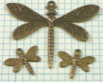 VINTAJ Dragonfly Set - 3 pcs