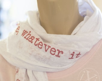 gift for her, gift for girlfriend, gift for mom, gift for best friend, personalized scarf, personalized christmas, personalized gift, womens