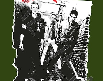 Tshirt - The Clash: The Clash (1977)