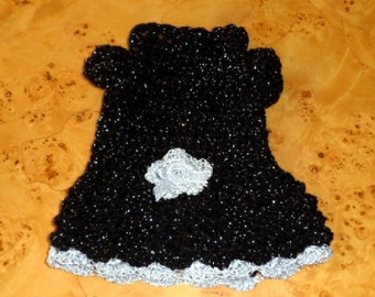 DOG CLOTHES. Party dress for puppy or small dog.