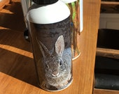 Mountain Cottontail Water Bottle - Aluminum - 20 Oz
