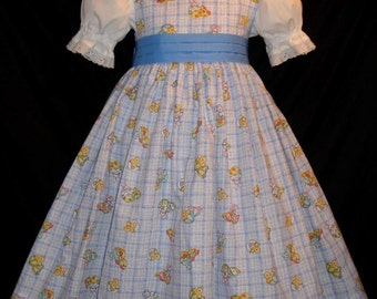 EASTER Chicks & Bunnies Dress CUSTOM SIZE