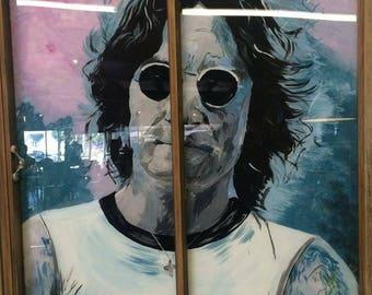Painted Window- John Lennon