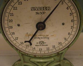 Vintage scale, Brand Salter