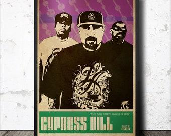 Cypress Hill Hip Hop Poster