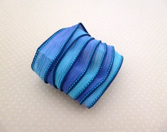 Ribbon color N 871 hand dyed silk