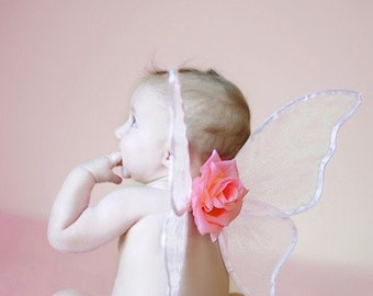 Butterfly Baby - Garden Fairy Wings - HANDMADE WINGS - Wings Only - Coordinates with the Tiara's Boutique Butterfly Baby Tutu