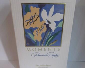 Moments by Priscilla Presley Eau De Toilette 50ml 1.7 fl.oz rare discontinued for women