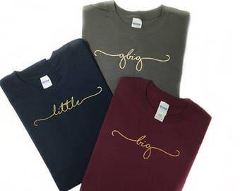 big little shirts, sorority shirts