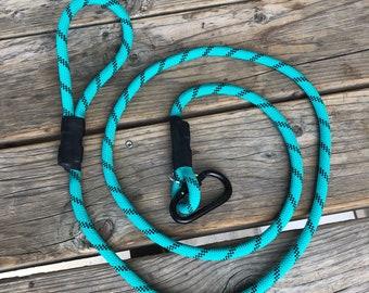 Tahoe Blue Rope Leash