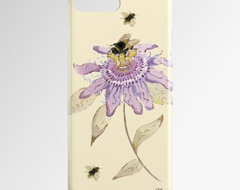 Passion Flower 3D iPhone Case