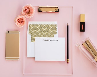 Ampersand Personalized Stationery Set