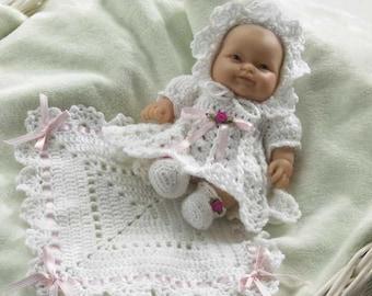 CD Coasters Set 1 Crochet Pattern PDF 850 Baby Chloe