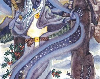 Cailleach Prayer Card