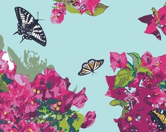 Katarina Roccella - Mediterraneo - Bougainvillush - Art Gallery Fabrics (MED-32609) - 1 Yard