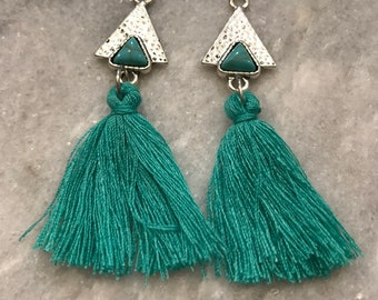 Tassel dangle
