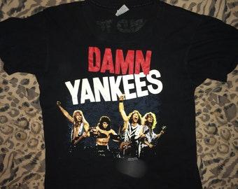 RARE Damn Yankees - Yanked World Tour t-shirt
