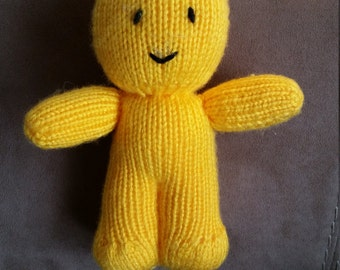 Jelly Bean Baby (knitted)