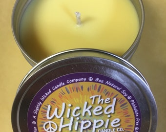 MONKEY FARTS - Fruity Banana Scented Soy Candle