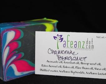 afeanz Chamomile Bergamot Handmade soap