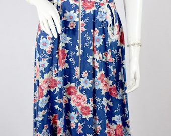 1940s Floral Day Dress