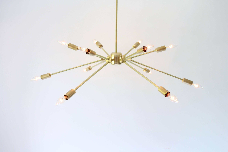 Sputnik Chandelier Starburst Pendant Lighting Fixture