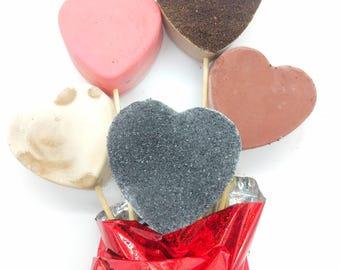 Bouquet mom, Salted caramel, chocolate, coffee soap, mocha soap, exfoliating soap, rose soap, handmade soap, soap bouquet, natural soap