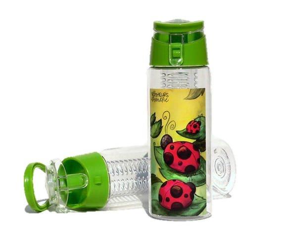 bouteille d 39 eau bouteille en plastique filtre pour les. Black Bedroom Furniture Sets. Home Design Ideas