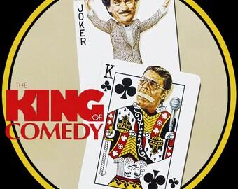 The King Of Comedy Custom image tee shirt