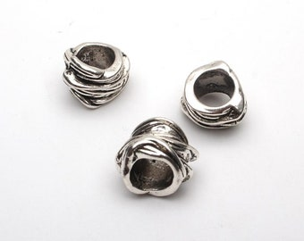 10pcs for 8mm Antique silver round beads jewelry supplies jewelry finding D-5-5-94