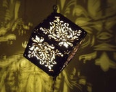 Pineapple Damask DropCube...