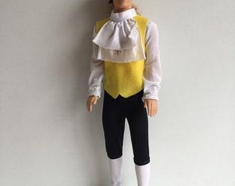 1991 Mattel Disney BEAUTY & THE BEAST Prince Adam Doll