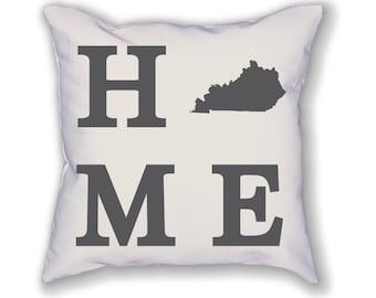 Kentucky Home State Pillow