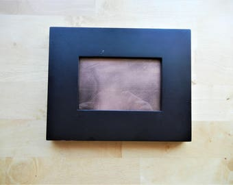 Copper-Infused Black Scrying Mirror