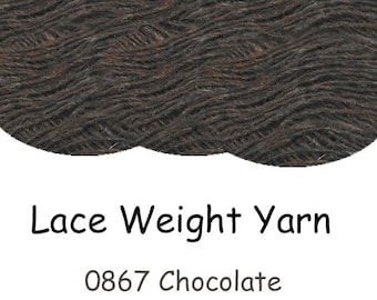 100% Icelandic Lace Weight Yarn - Einband - Good for shawls and finer knitting