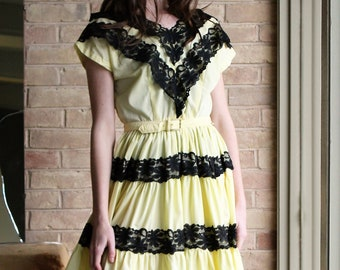 Cap Sleeve Dress Women   Meg Simkins, Small, Medium, Cap Sleeve Dress, Full Skirt Dress Women, Swing Dress Women, Tiered Skirt Dress Women
