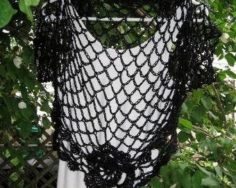 Summer Midnight Shrug Pattern Instant Download Women Teens Bolero Cardigan Sweater