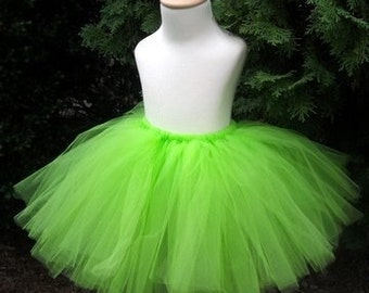 Bright Green Teen or Adult Tutu Tinkerbell Tutu & Tinkerbell costume adult | Etsy