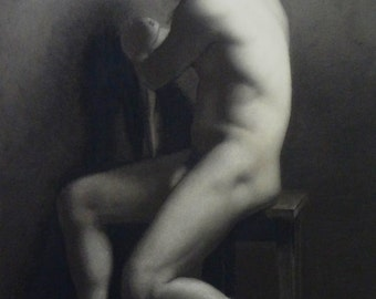 Academic Figure Drawing in Charcoal