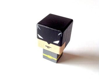 """Magnet  figurine cubique super-héroïne """"Batman"""""""