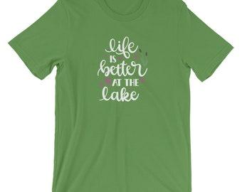 Life Is Better At The Lake Tee Shirt, Lake Life Shirt, Lake T Shirt, Lake Tee Shirt, Lake Shirt
