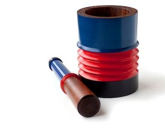 Assu Mortar & Pestle [hand made in Rose wood]