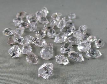 Herkimer Diamond (med) - Crown Chakra, Healing Crystals & Stones, Sparkly Crystals, Energy Amplifier, Raw Herkimer Diamond, Quartz T577