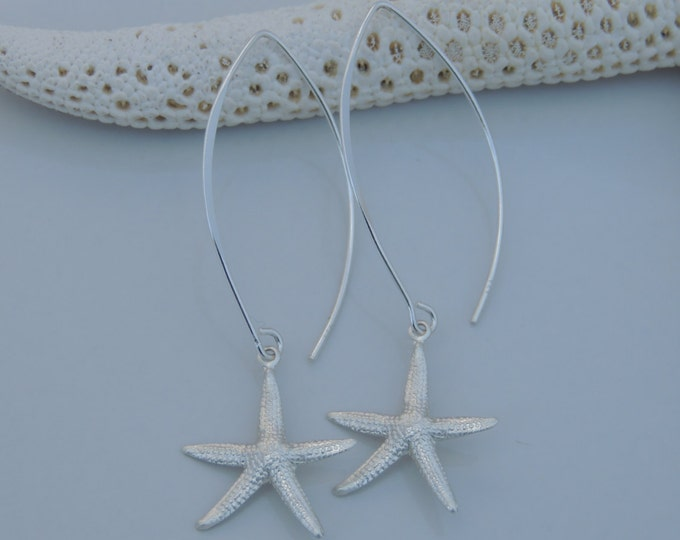 Starfish Marquis Earrings