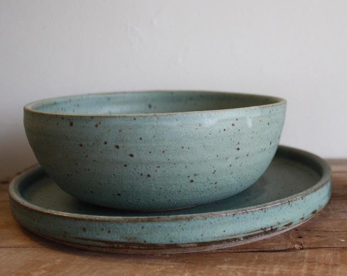 Dinnerware Set - Dinner Plate - Dinner Bowl - Ceramics & Pottery - Handmade - KJ Pottery