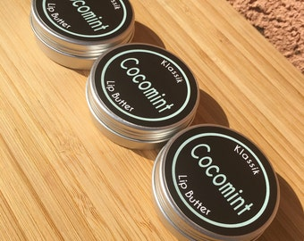 3-pack of Klassik Cocomint Vegan Lip Butter