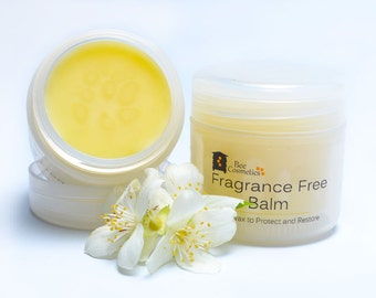 Fragrance free balm. Natural unscented moisturising for sensitive skin, hand and body.  50ml
