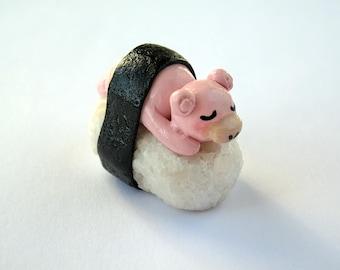 Polymer Clay Slowpoke Sushi