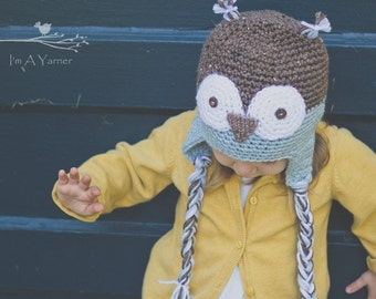 Blue Owl Hat, Baby Halloween Hat, Costume Owl Hat, Baby Owl Hat, Halloween Hat, Baby Boy Owl Hat, Adult Owl Hat, Owl Baby Clothes, Baby Hat