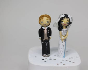 Request your custom wedding figurines